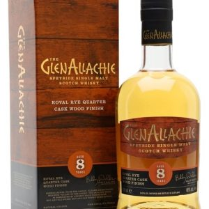 Glenallachie 8 Year Old / Koval Quarter Cask Speyside Whisky