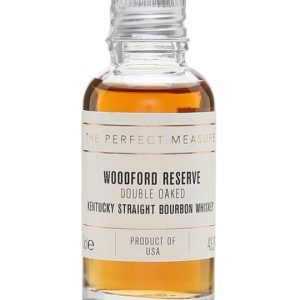 Woodford Reserve Double Oaked Sample Kentucky Straight Bourbon Whiskey