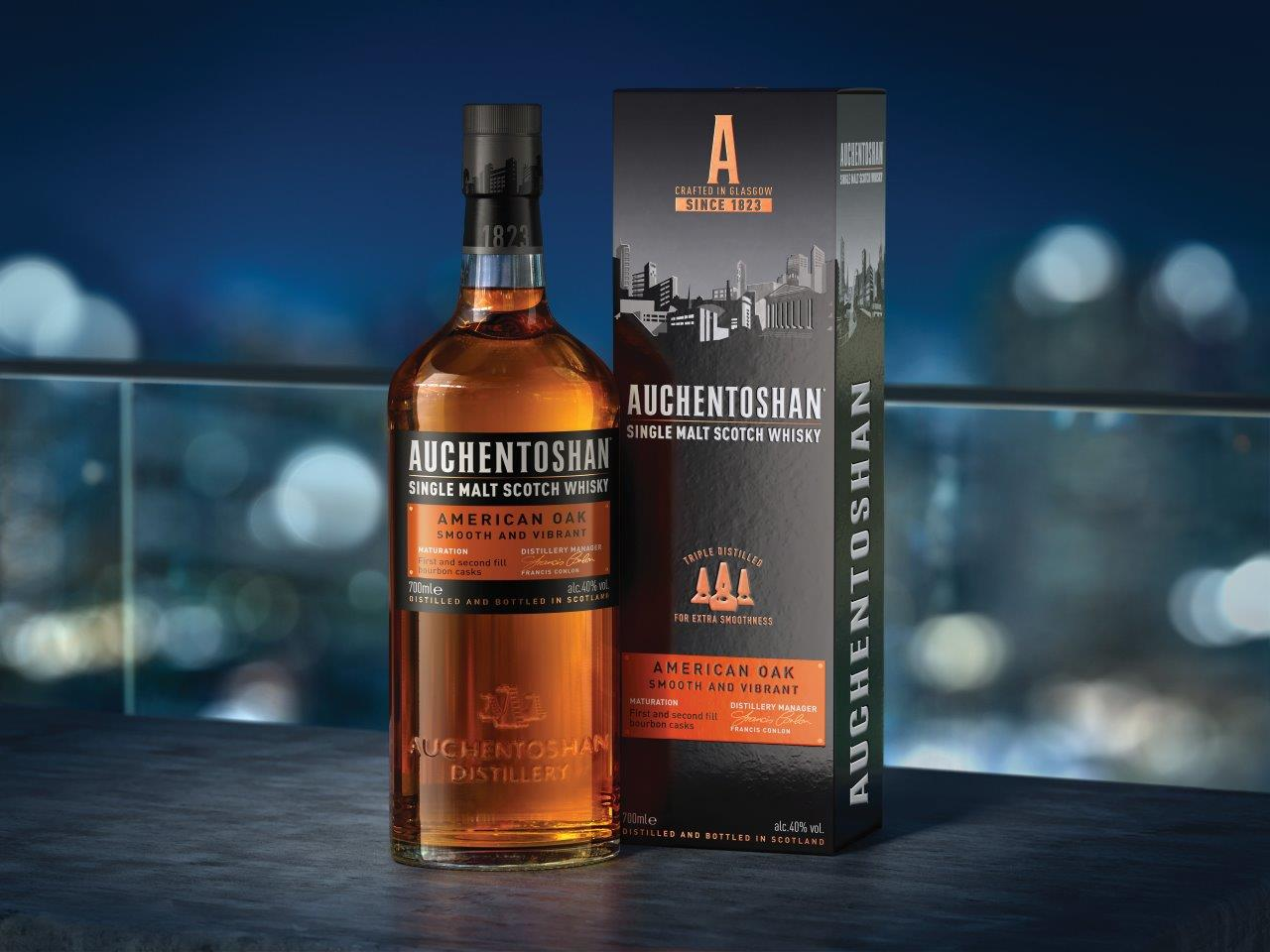 Auchentoshan, Auchentoshan Whisky's Chic New Urban Packaging, @WhiskeyBlogger, @WhiskeyBlogger