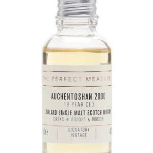 Auchentoshan 2000 Sample / 18 Year Old / Signatory Lowland Whisky