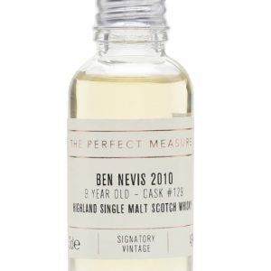 Ben Nevis 2010 Sample / 9 Year Old / Signatory Highland Whisky