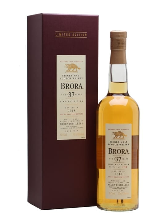 Brora 37 Year Old / 14th Release / Special Releases 2015 Highland Whisky