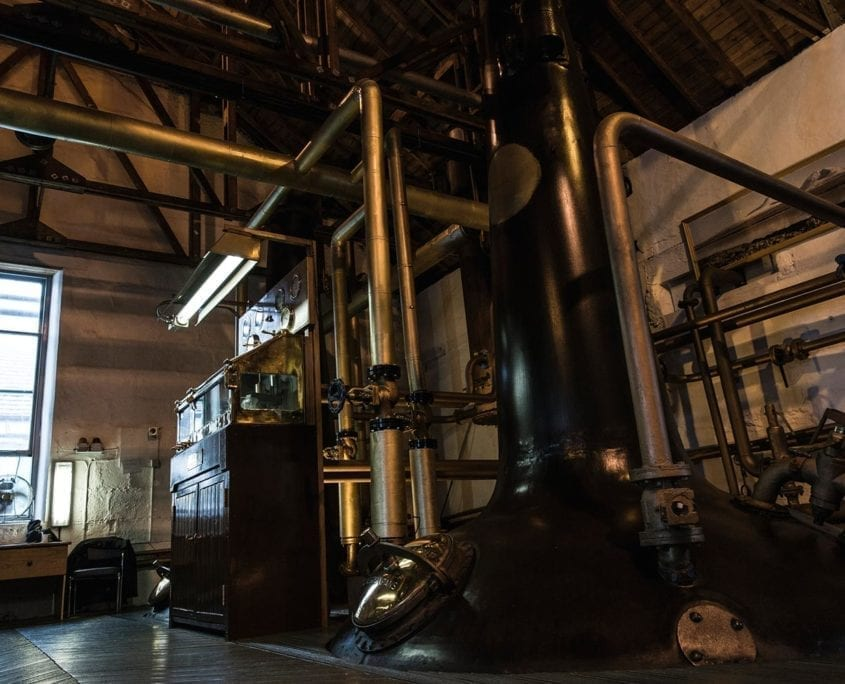 Bruichladdich Whisky Stills. Whiskey Blogger Stuart McNamara Reviews Octamore X4+10