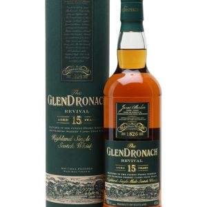 Glendronach 15 Year Old Revival / Sherry Cask Highland Whisky