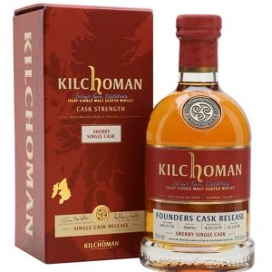 Kilchoman 2008 Sherry Cask / 9 Year Old / Founders Cask Islay Whisky