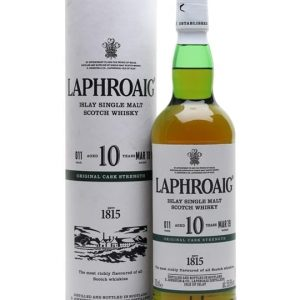 Laphroaig 10 Year Old / Cask Strength / Batch 011 Islay Whisky