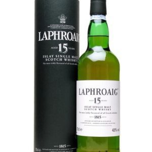 Laphroaig 15 Year Old Islay Single Malt Scotch Whisky