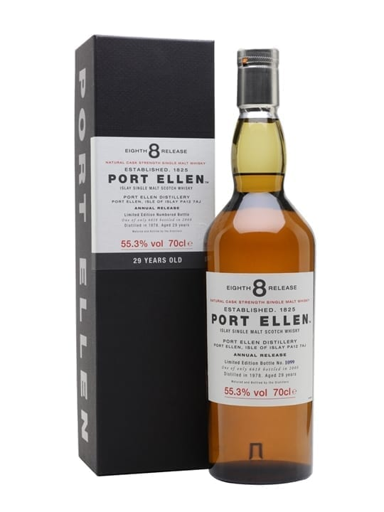 Port Ellen 1978 / 29 Year Old / 8th Release (2008) Islay Whisky