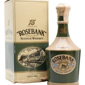 Rosebank Ceramic 15 Year Old / Bot.1970s Lowland Whisky