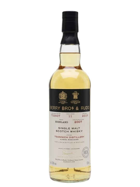 Teaninich 2007 / 11 Year Old / Berry Bros & Rudd Highland Whisky