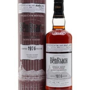 Benriach 1976 / 34 Year Old / Sherry Cask Speyside Whisky