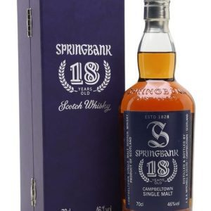 Springbank 18 Year Old / 1st Edition Campbeltown Whisky