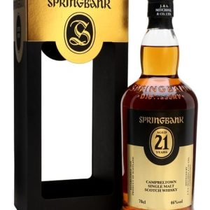 Springbank 21 Year Old / 2017 Release Campbeltown Whisky