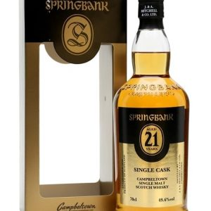 Springbank 21 Year Old Cask Strength Campbeltown Whisky