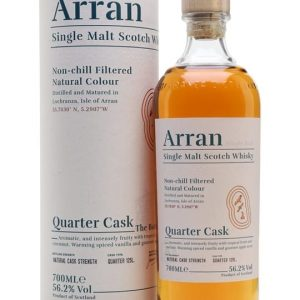Arran Quarter Cask Island Single Malt Scotch Whisky