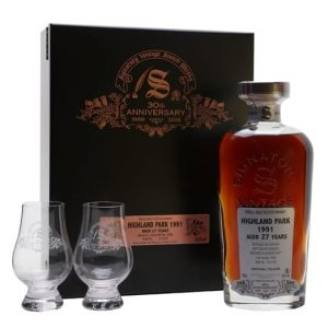 Highland Park 1991 / 27 Year Old / Signatory 30th Anniversary Island Whisky