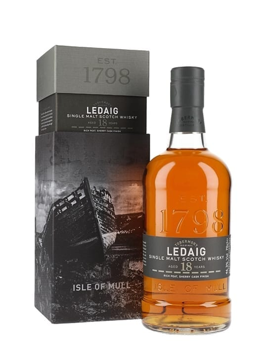 Ledaig 18 Year Old Island Single Malt Scotch Whisky