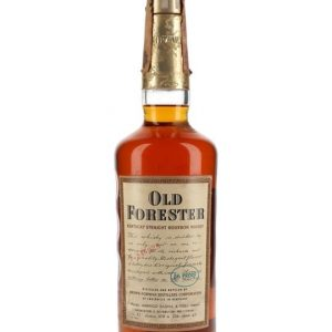 Old Forester / Bot.1970s Kentucky Straight Bourbon Whiskey