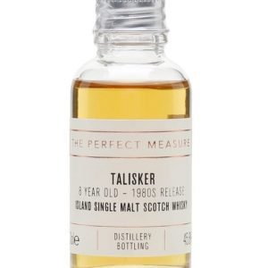 Talisker 8 Year Old Sample / Bot.1980s Island Whisky