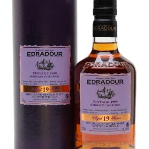 Edradour 1999 / 19 Year Old / Bordeaux Finish Highland Whisky