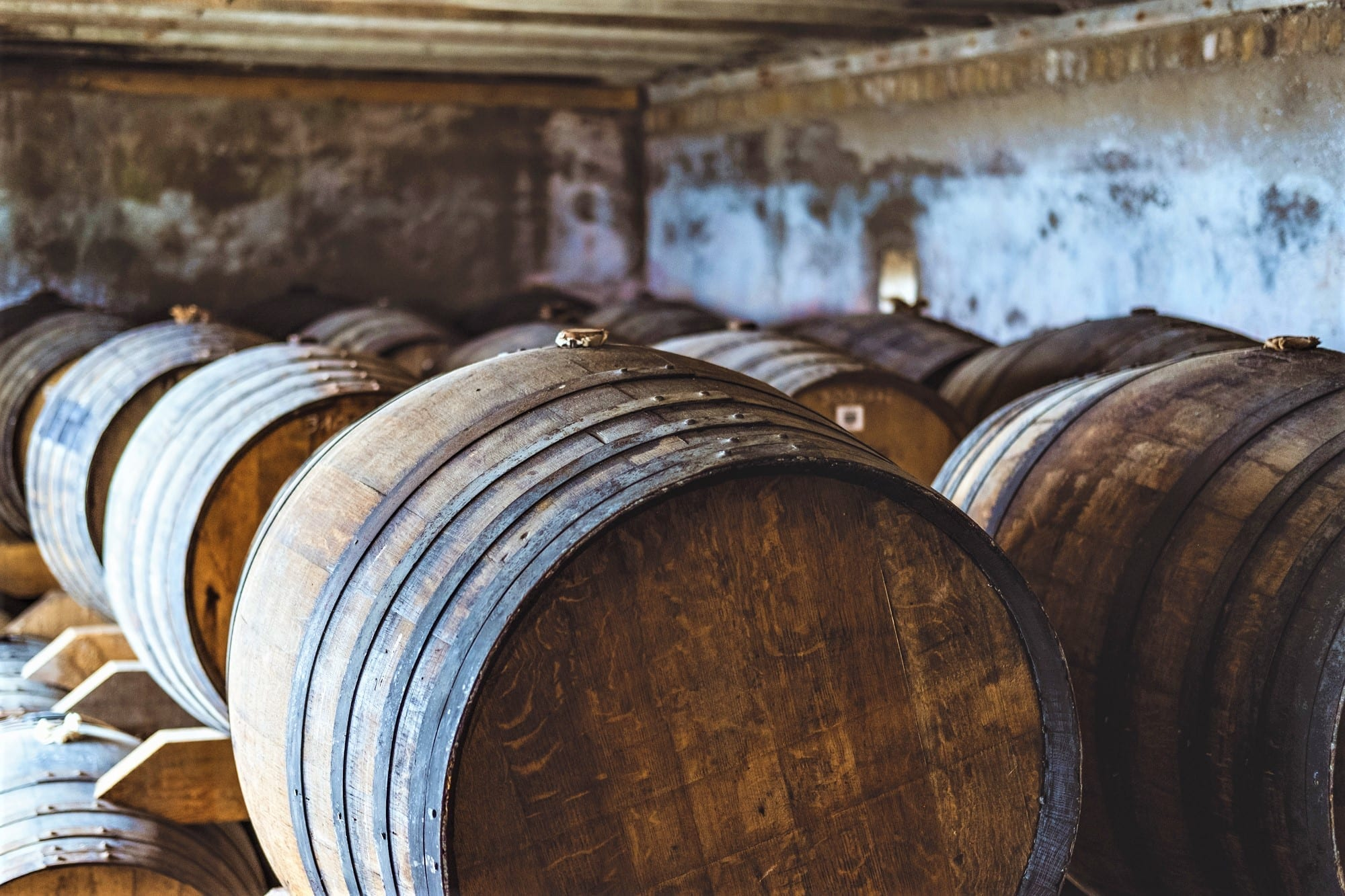 Lambay Whiskey Cask Program. Sea Cask Room Lambay Island Irish Whiskey Blog.