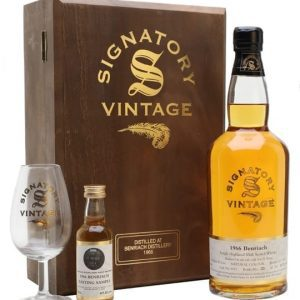 Benriach 1966 Set With Glass & Miniature / 35 Year Old Speyside Whisky
