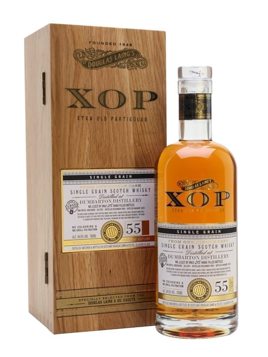 Dumbarton 1964 / 55 Year Old / Xtra Old Particular Singla Whisky
