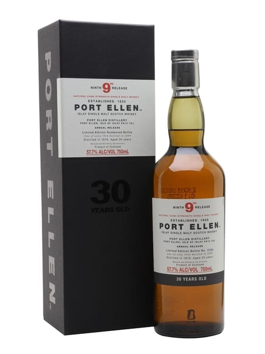 Port Ellen 1979 / 30 Year Old / 9th Release (2009) Islay Whisky