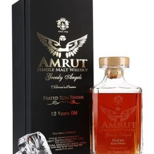 Amrut Greedy Angels 10 Year Old / Peated Rum Finish Single Malt Whisky