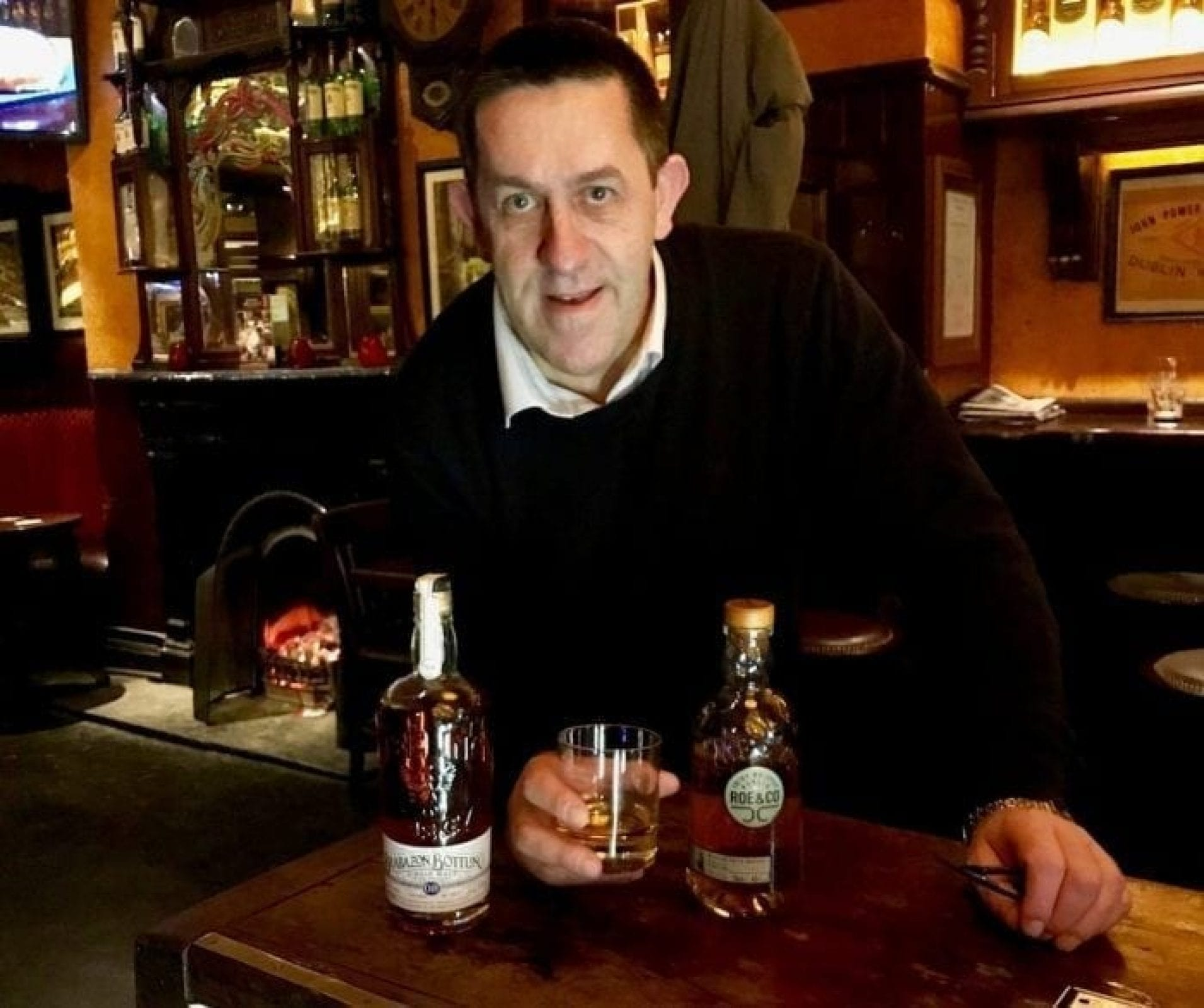 Whiskey Blogger Stuart McNamara reviews Roe and Co and Telling Brabazon 2 in Sonny Molloys's Whiskey Bar in Galway for the 2017 Irish Whiskey of the Year award.