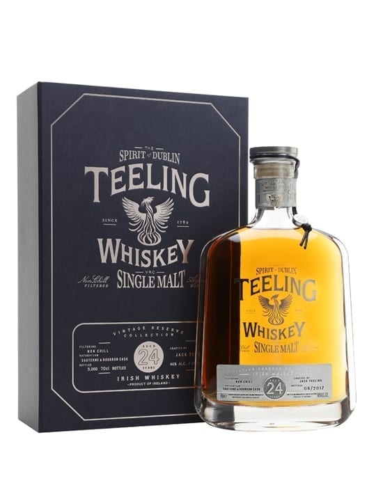 Teeling 1991 / 24 Year Old Irish Single Malt Whiskey