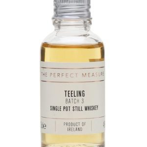 Teeling Single Pot Still Batch 3 Sample Irish Single Malt Whiskey