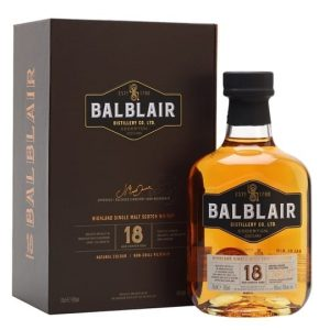 Balblair 18 Year Old Highland Single Malt Scotch Whisky