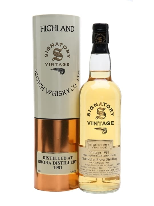 Brora 1981 / 19 Year Old / Signatory Highland Whisky