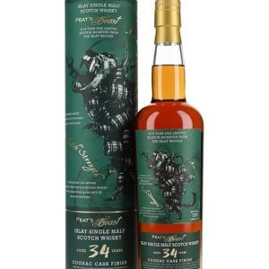 Peat's Beast 1985 / 34 Year Old / Cognac Finish Islay Whisky