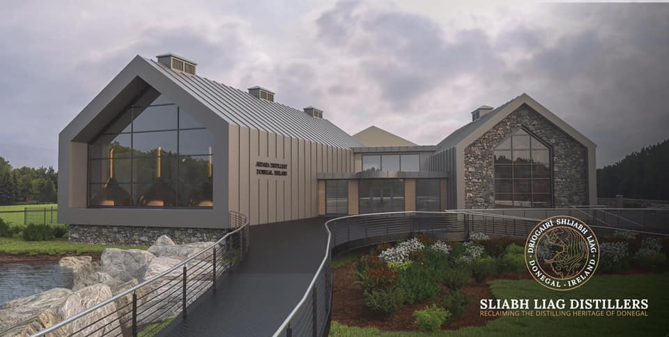 Sliabh Liag Distillers. Ardara Irish Whiskey Distillery. Irish Whiskey Blog