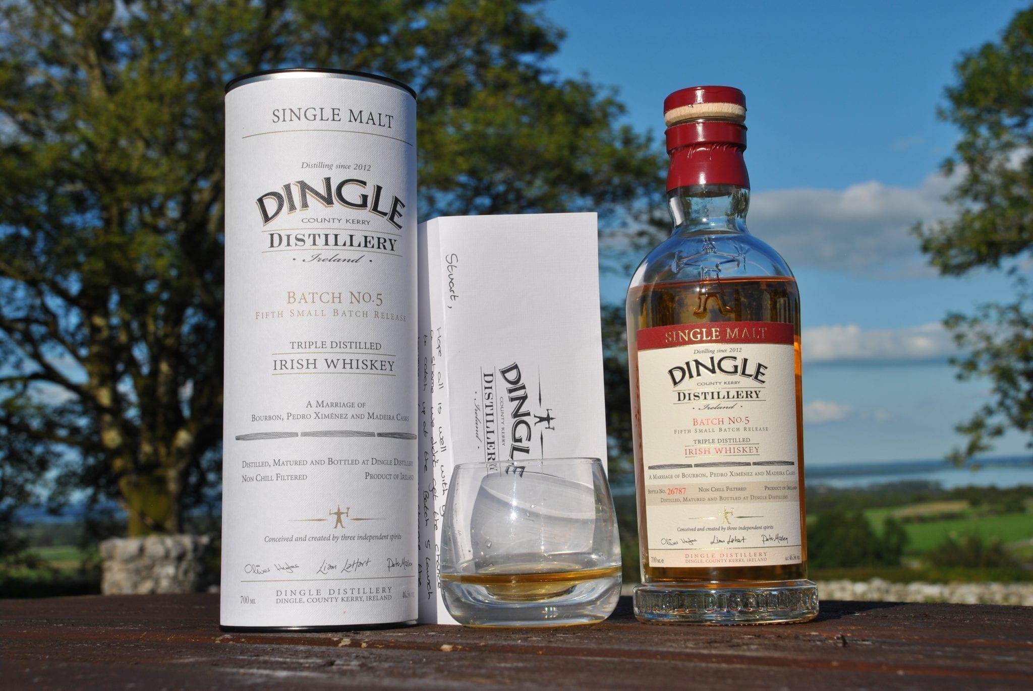 Dingle Batch No. 5 Single Malt Irish Whiskey Review. Whiskey Blogger Stuart McNamara. Irish Whiskey Blog.