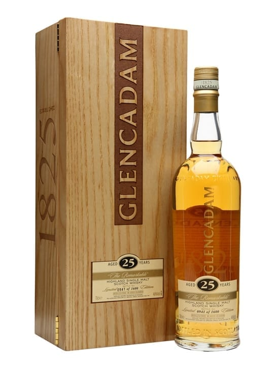Glencadam 25 Year Old / The Remarkable / Original Release Highland Whisky