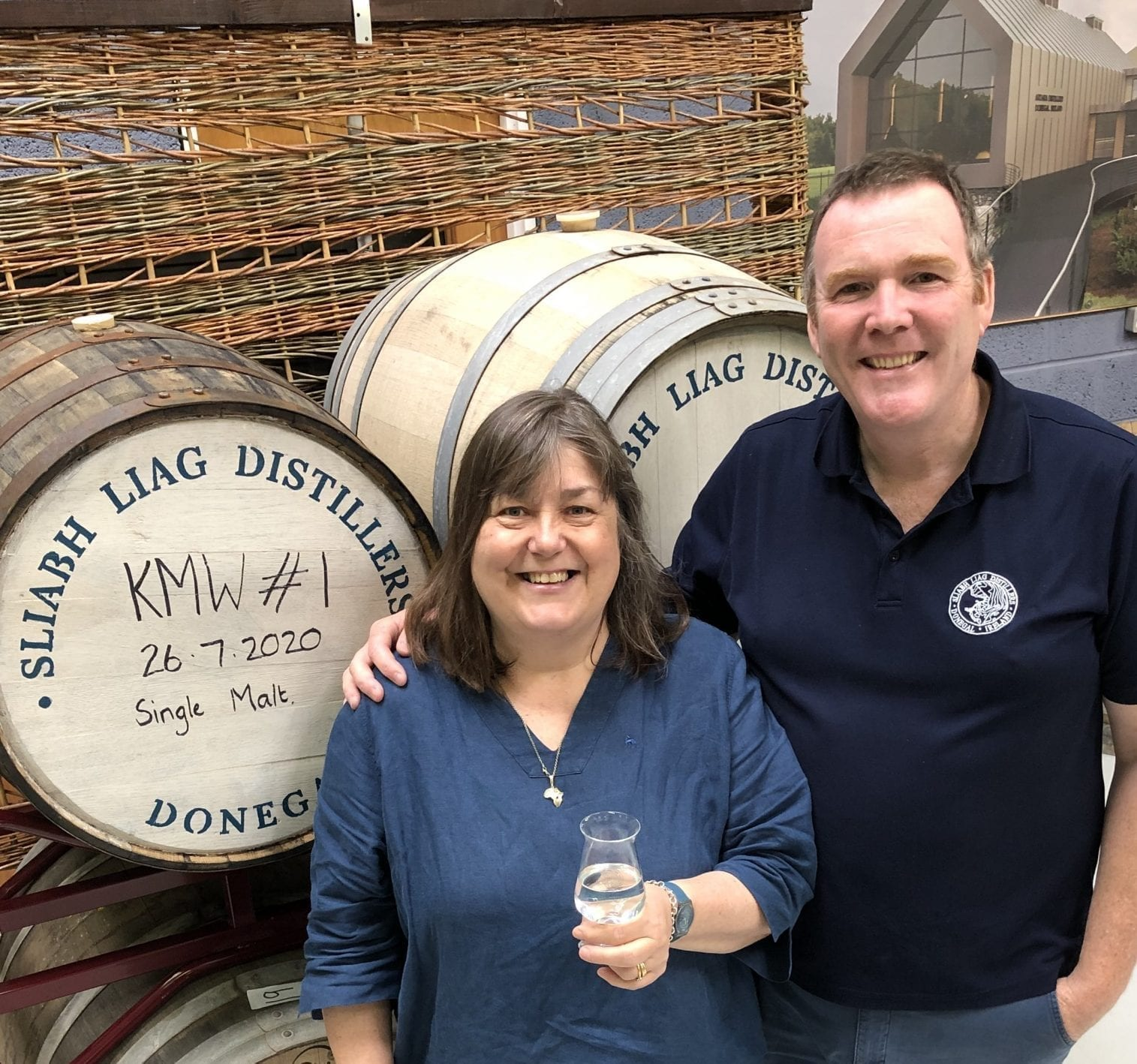 Sliabh Liag Irish Whiskey Distillery. James and Moira Doherty. Irish Whiskey Blog