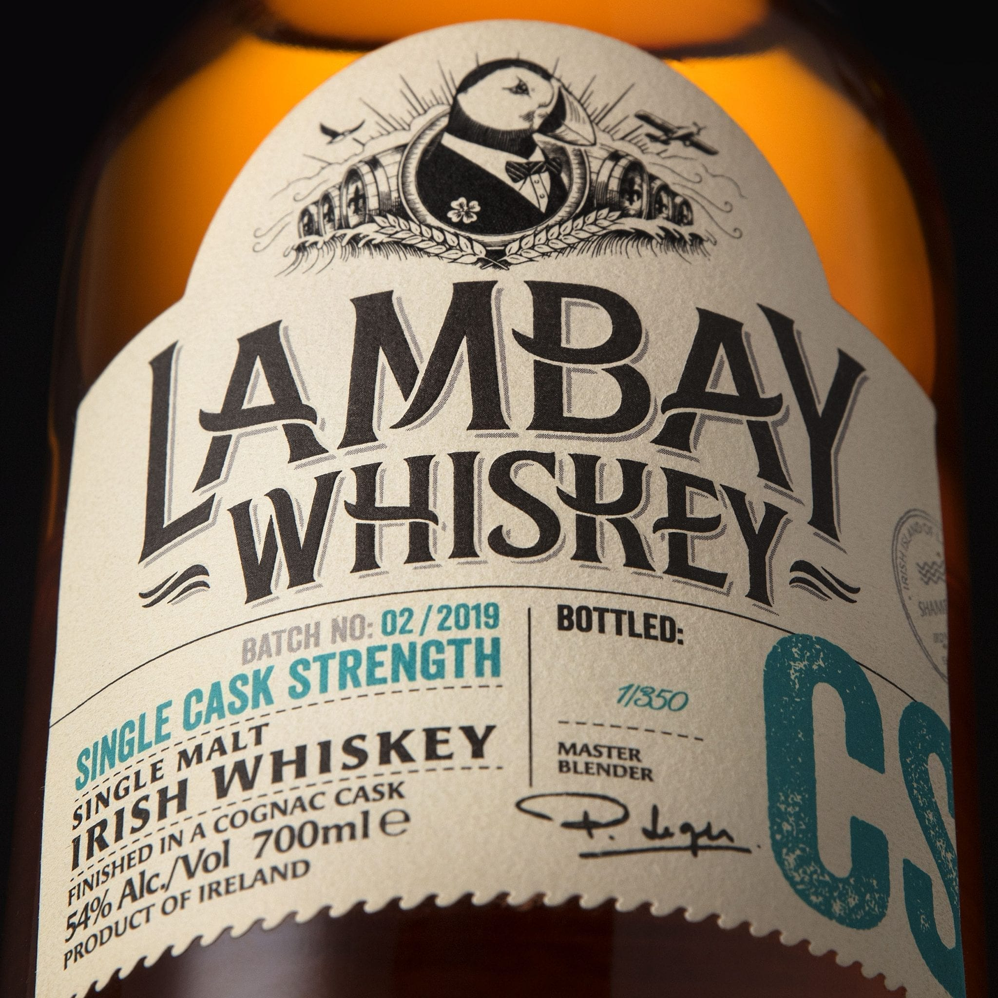 Lambay Whiskey Cask Program. Sea Cask Room Lambay Island Irish Whiskey Blog.