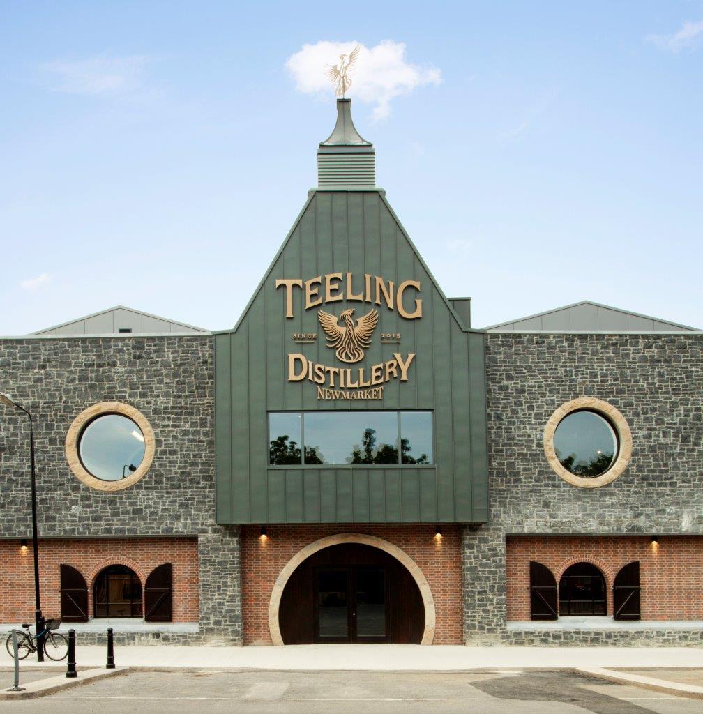 Teeling Distillery Dublin Irish Whiskey Trail