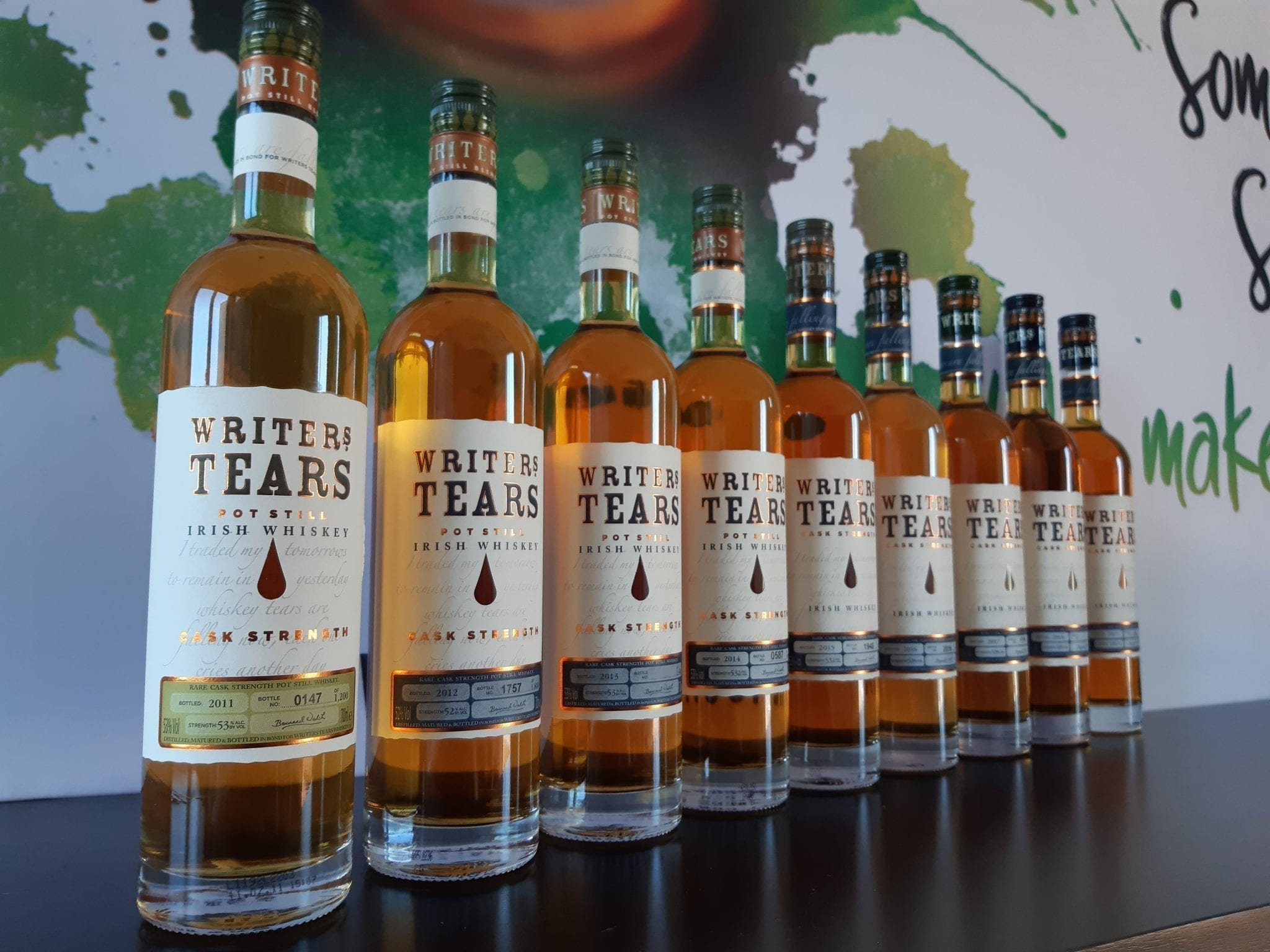 Writers Tears Donation to Hack and Jill. Irish Whiskey Blog