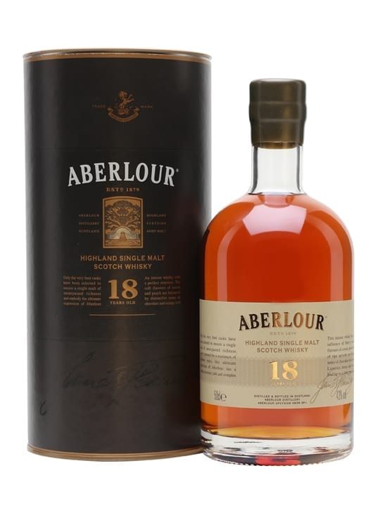 Aberlour 18 Year Old / Half Litre Speyside Single Malt Scotch Whisky