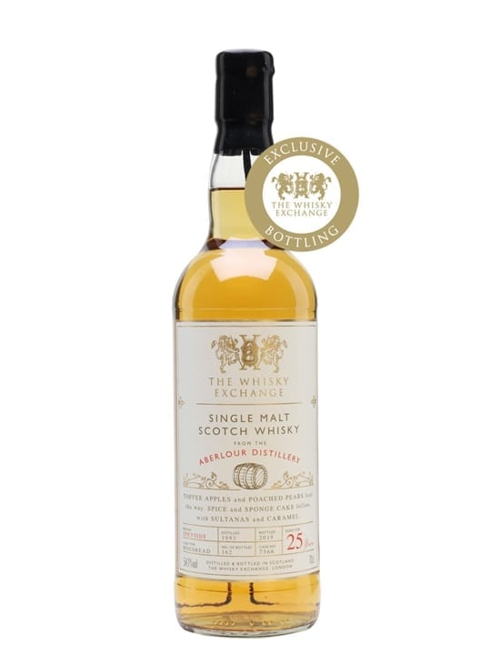 Aberlour 1993 / 25 Year Old / The Whisky Exchange Speyside Whisky