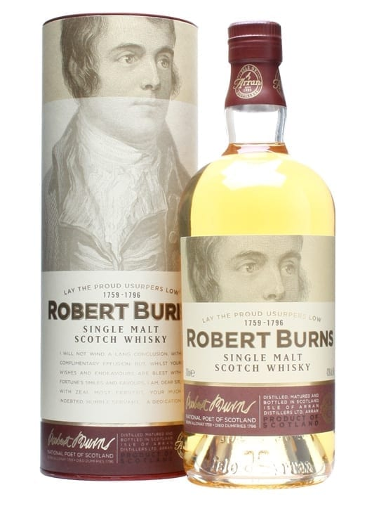 Arran Robert Burns Single Malt Island Single Malt Scotch Whisky