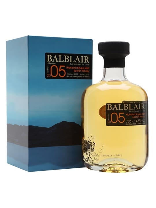 Balblair 2005 / Bot.2018 Highland Single Malt Scotch Whisky