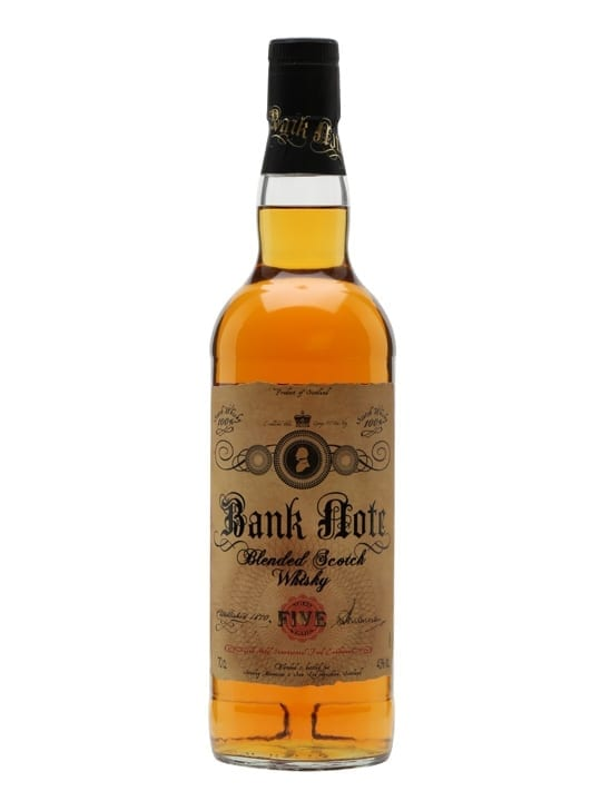 Bank Note 5 Year Old Blended Scotch Whisky