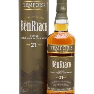 Benriach 21 Year Old Temporis Peated Speyside Whisky