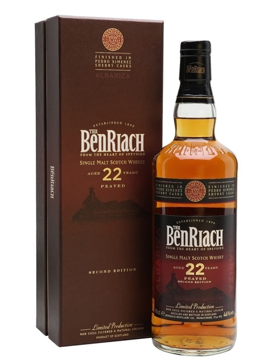 Benriach 22 Year Old / Albariza / PX Sherry Finish Speyside Whisky