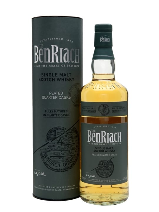 Benriach Peated Quarter Casks Speyside Single Malt Scotch Whisky